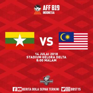 malaysia vs myanmar piala aff u 19