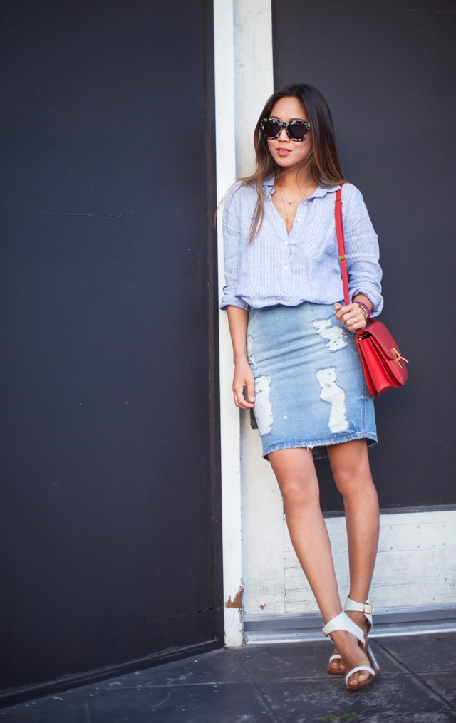 song_of_style_denim_skirt_celine_heels