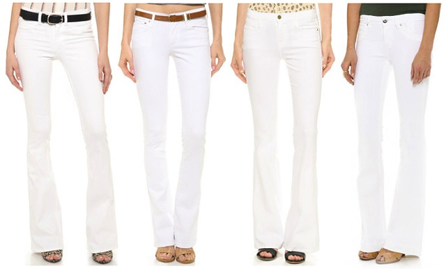 white-flared-jeans
