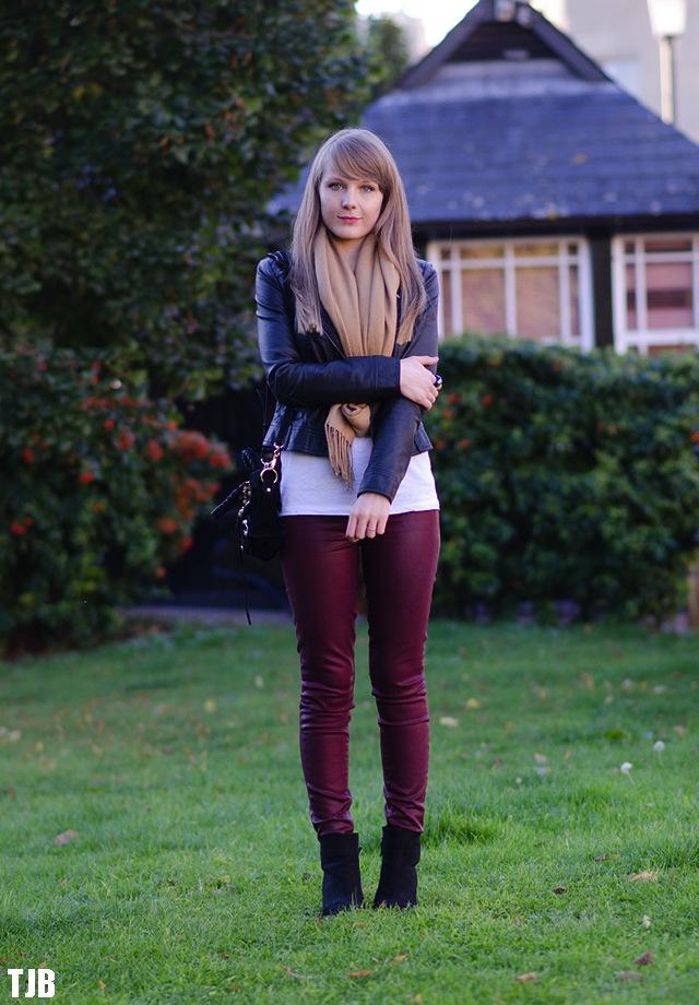 Paige Denim Verdugo Skinny Jeans In Shiraz Silk Coating