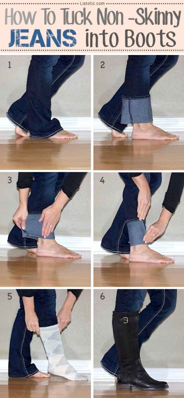 how-to-tuck-your-jeans-into-boots