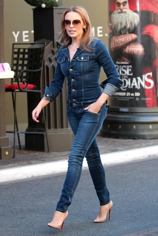 kylie-minogue-denim-jumpsuit