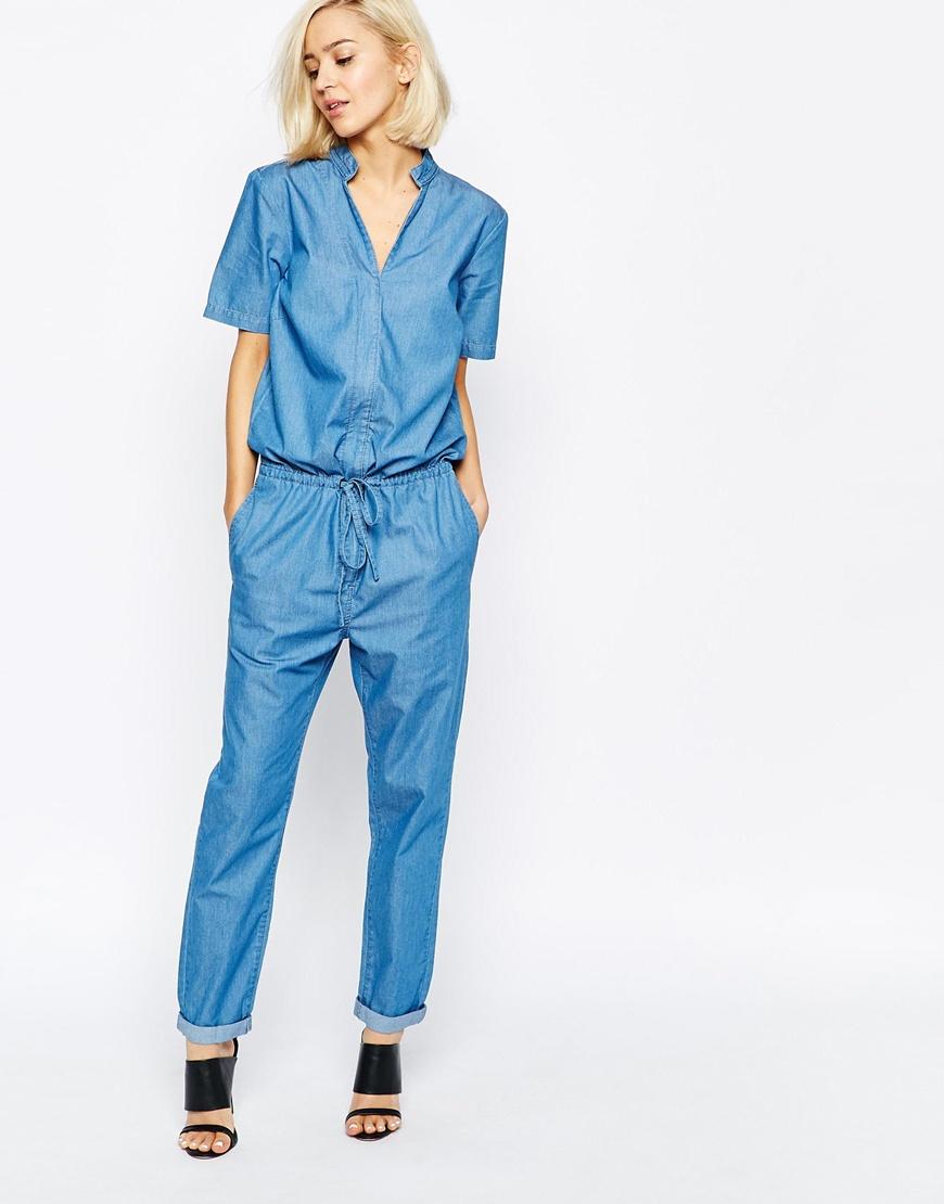 selected-katrine-denim-jumpsuit