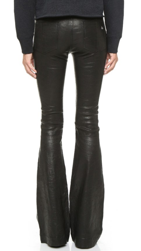 Rag & Bone Bell Leather Pants