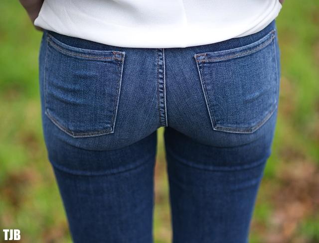 FRAME Denim Le Skinny de Jeanne in Huntley Review 9