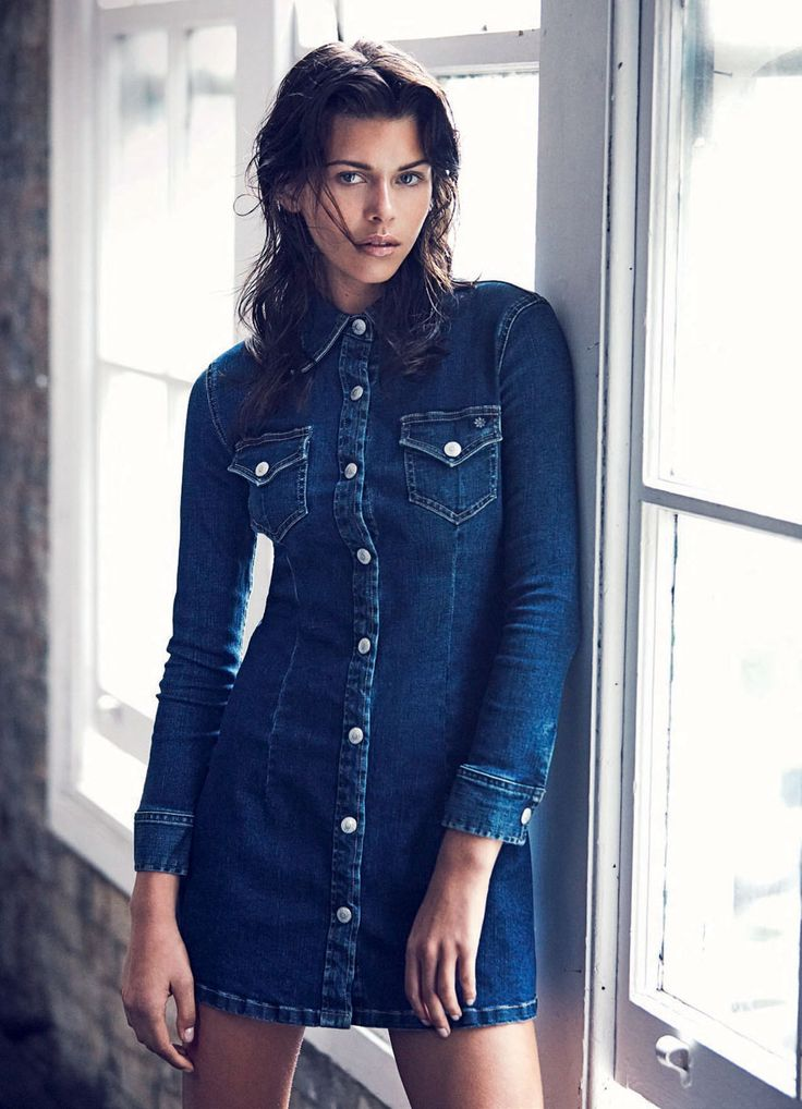 Image result for denim dress