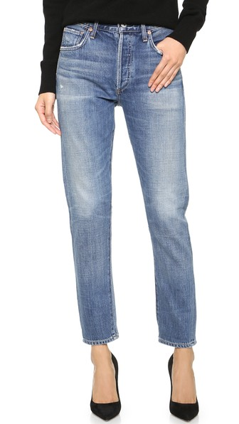 Citizens of Humanity Liya High Rise Jeans Fade Out