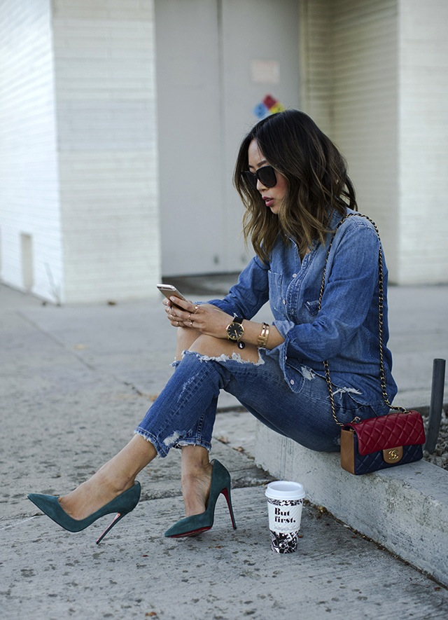 song-of-style-double-denim