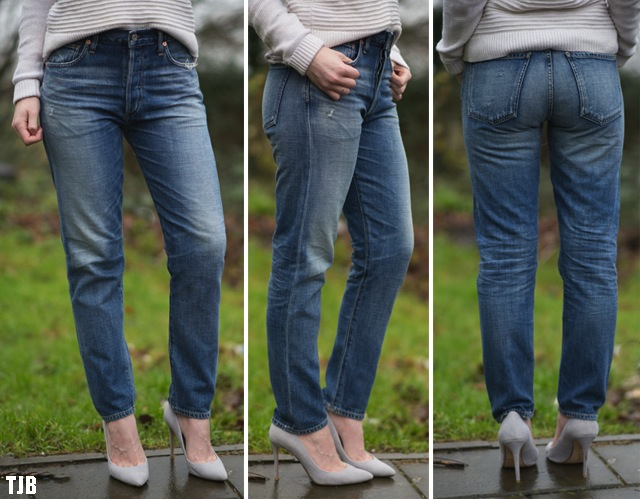 Citizens of Humanity Liya High Rise Classic Fit Jeans in Fade Out Review 11