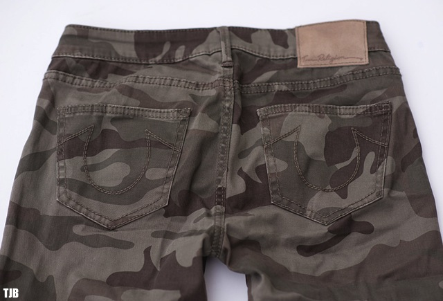 True Religion Casey Skinny Jeans in Camo Review 6