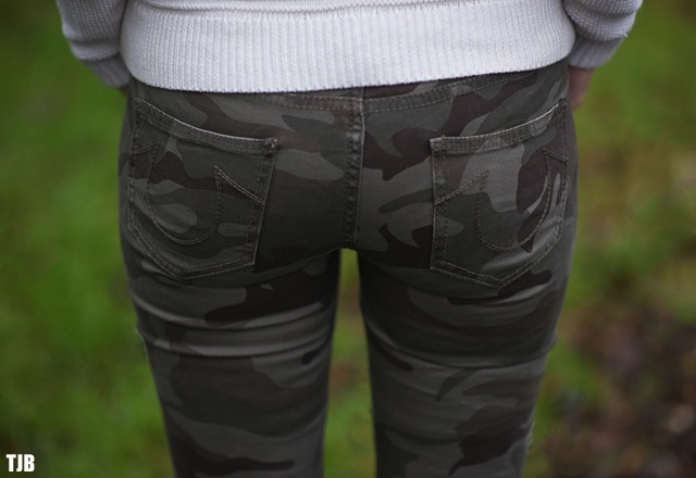 True Religion Casey Skinny Jeans in Camo Review
