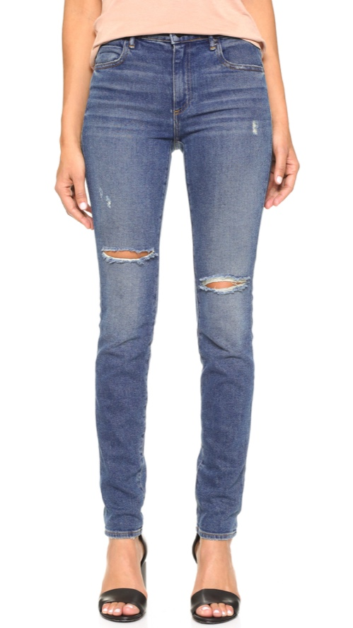 Denim x Alexander Wang 001 Slim Fit Skinny Jeans