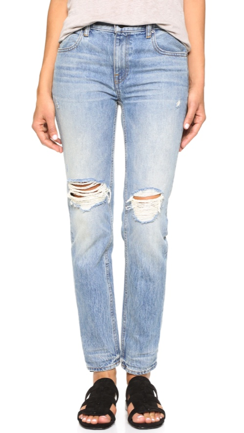 Denim x Alexander Wang 002 Relaxed Fit Skinny Jeans 2