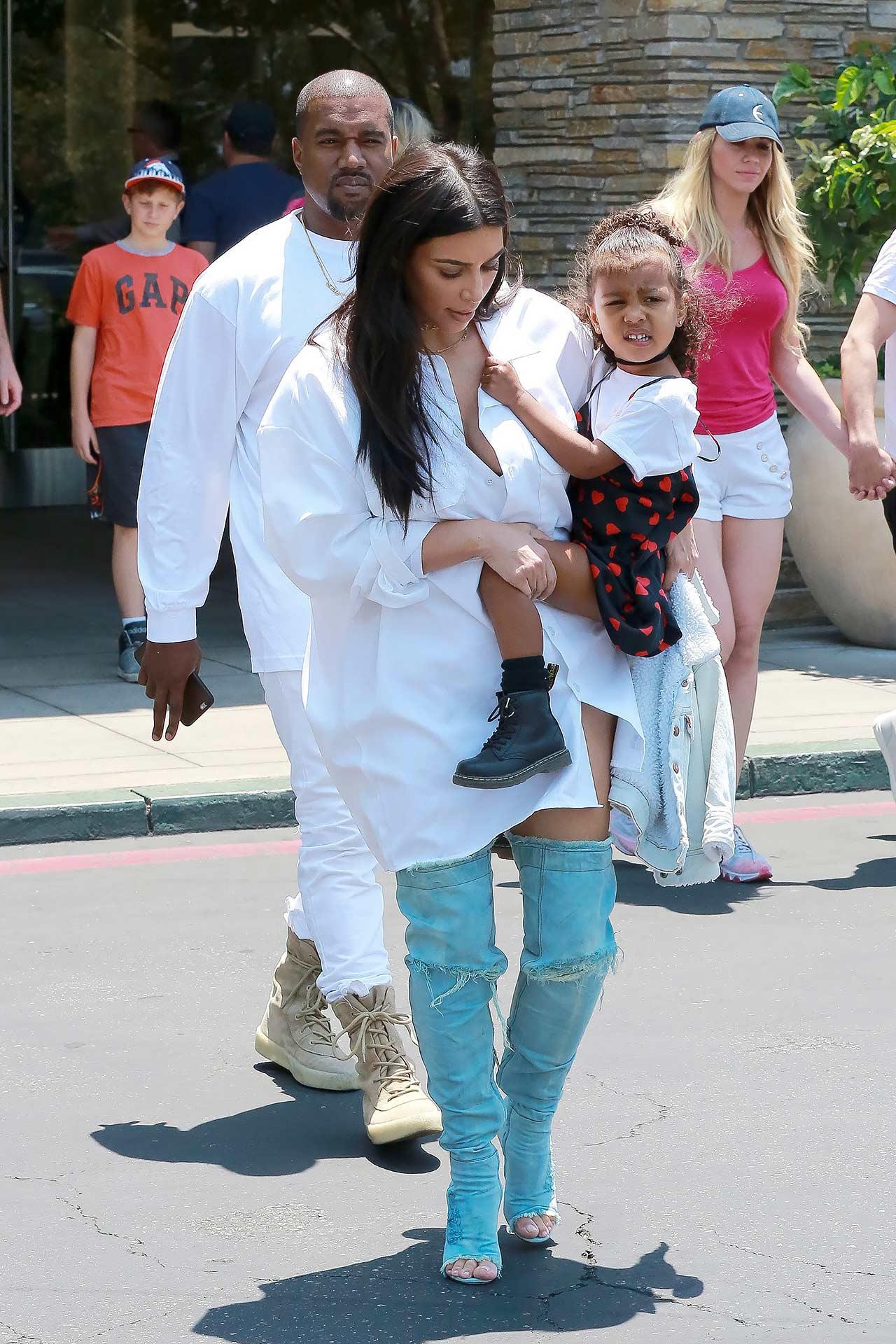 Kim Kardashian Wears Gianvito Rossi