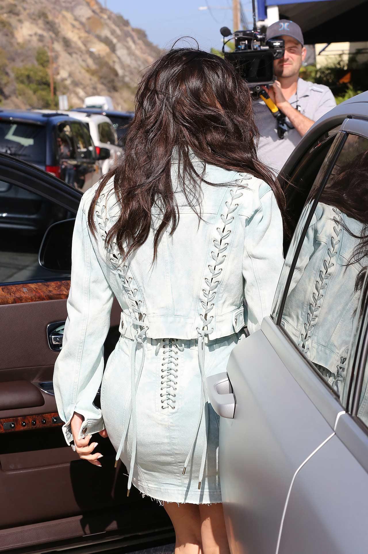 kim-kardashian-roberto-cavalli-denim-skirt-jacket-3