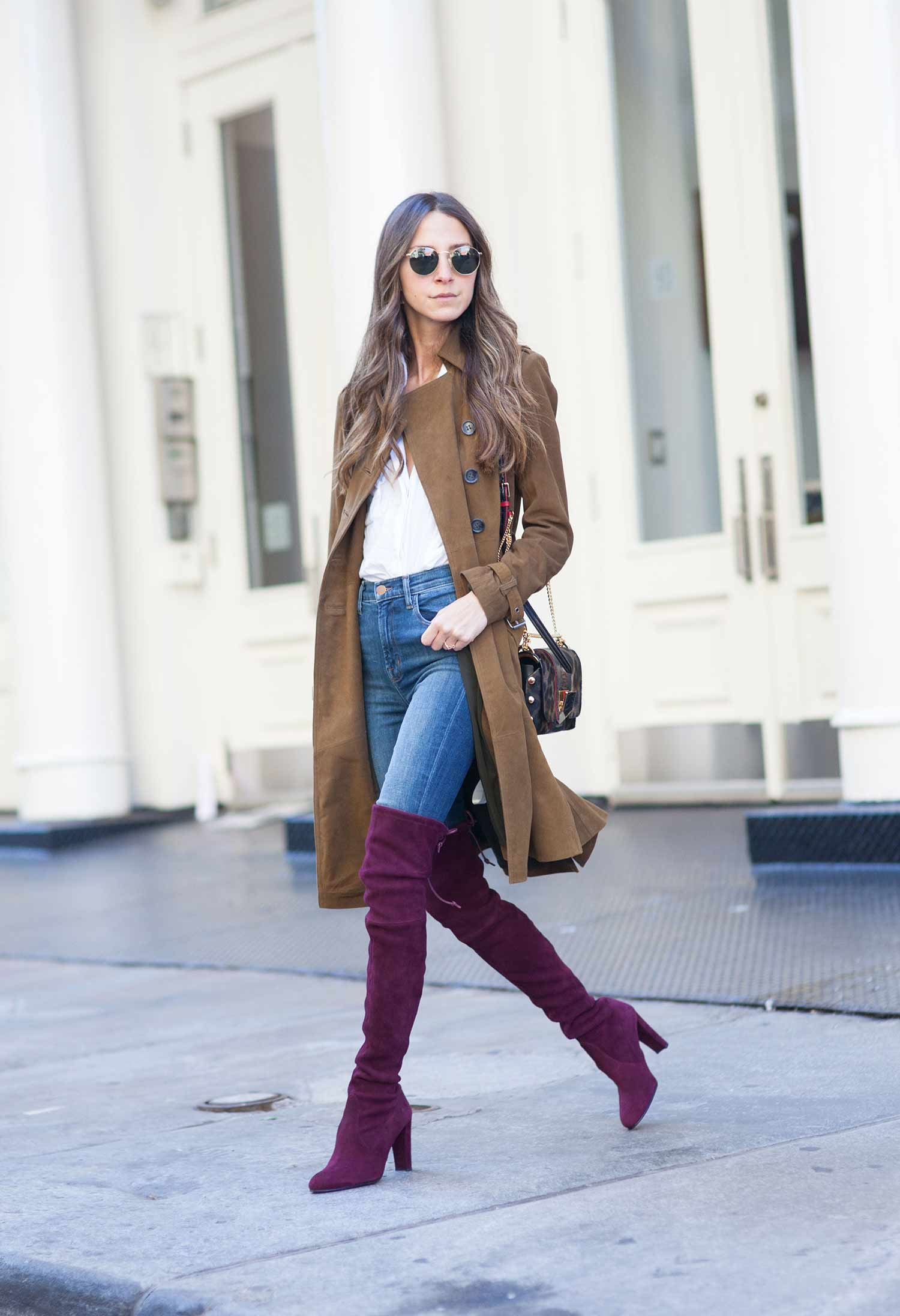 How To Wear Jeans With Tall Boots | The