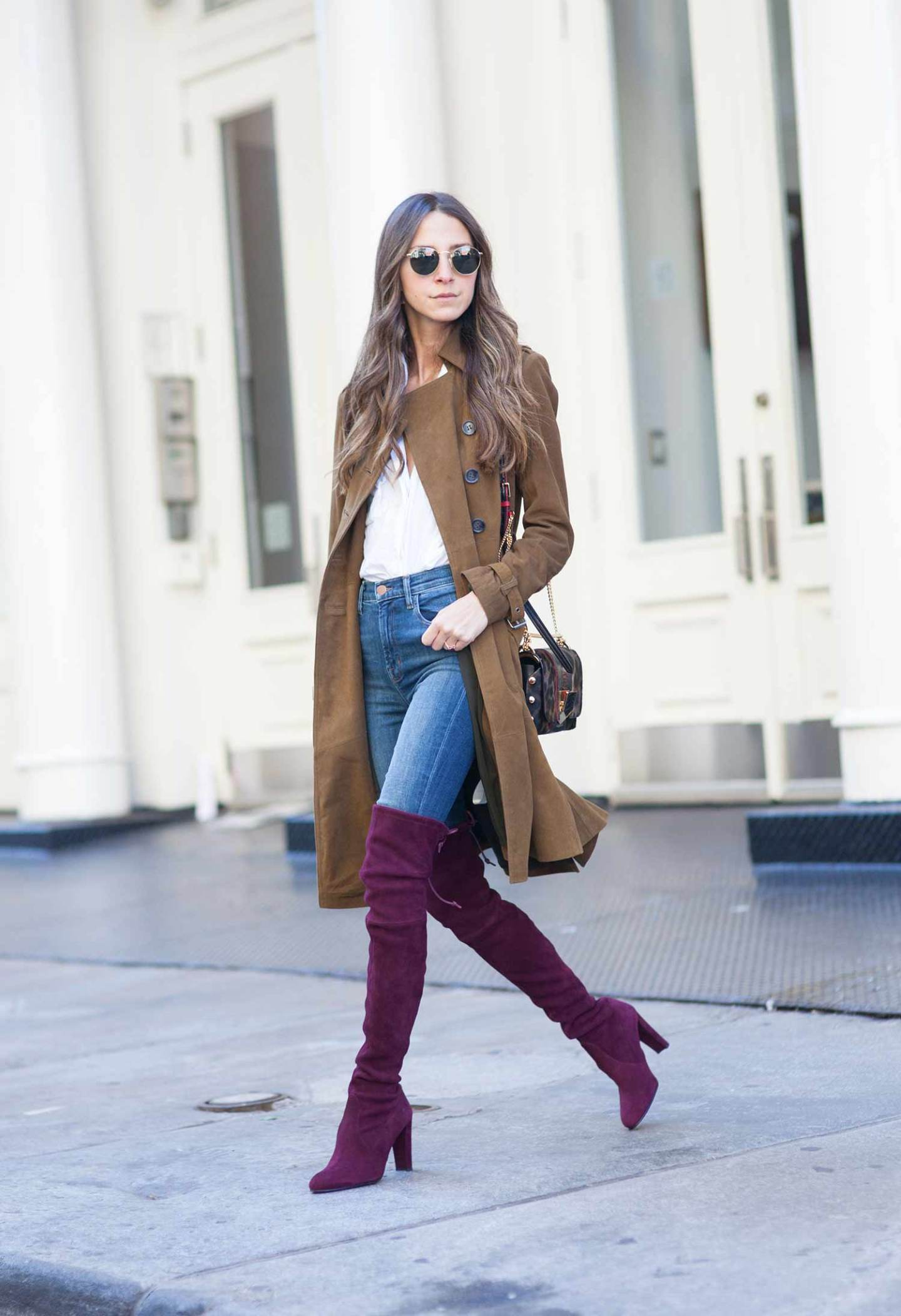 How To Wear Jeans With Tall Boots