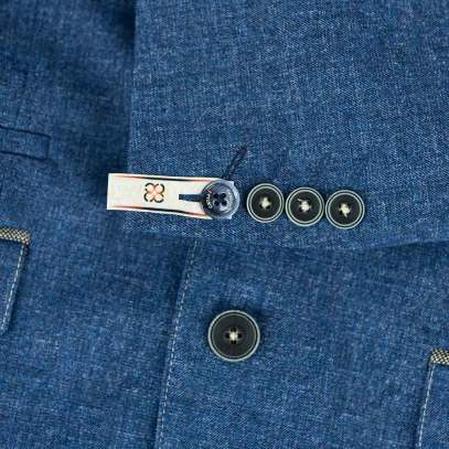 Cavani-Marina-Blue-Blazer-Details