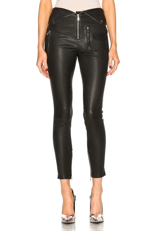 10 Designer Black Leather Pants For 2019