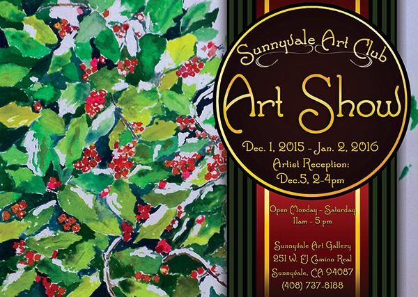 Art show postcard