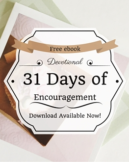 Free Devotional Download: 31 Days of Encouragement