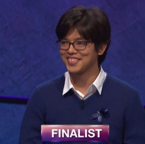 Alan Lin, today's Jeopardy! winner (for the August 8, 2018 episode.)