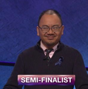 Andrew Pau, today's Jeopardy! winner (for the August 3, 2018 episode.)
