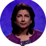 Vaishali Shetty on Jeopardy!