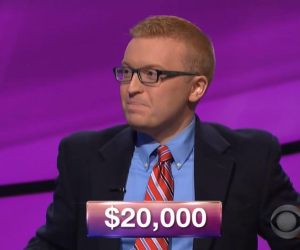 Sean Udicious, today's Jeopardy! winner (for the February 5, 2018 episode.)