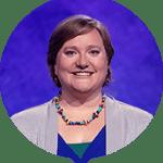 Emily Deckenback on Jeopardy!