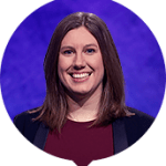 Lindsey Piesz on Jeopardy!