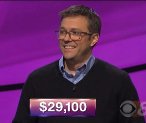 Mark Ashton, today's Jeopardy! winner (for the March 9, 2018 episode.)