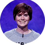 Hannah Sage on Jeopardy!