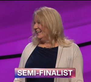 Katherine Saxby, today's Jeopardy! winner (for the May 10, 2018 episode.)