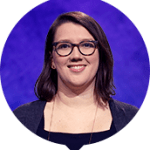 Katherine Pisarro-Grant on Jeopardy!