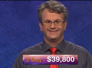 Rick Terpstra, today's Jeopardy! winner (for the July 27, 2018 game.)