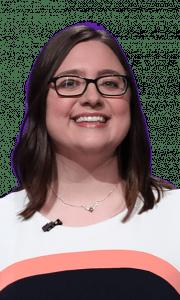 Julia Rosinski Bailey on Jeopardy!
