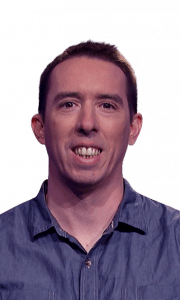 Jason Mangano on Jeopardy!