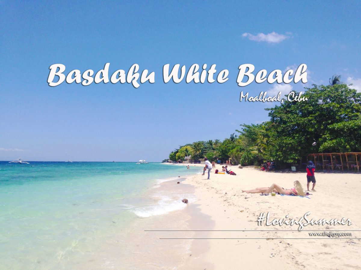Basdaku White Beach: Another Destination in Moalboal, Cebu