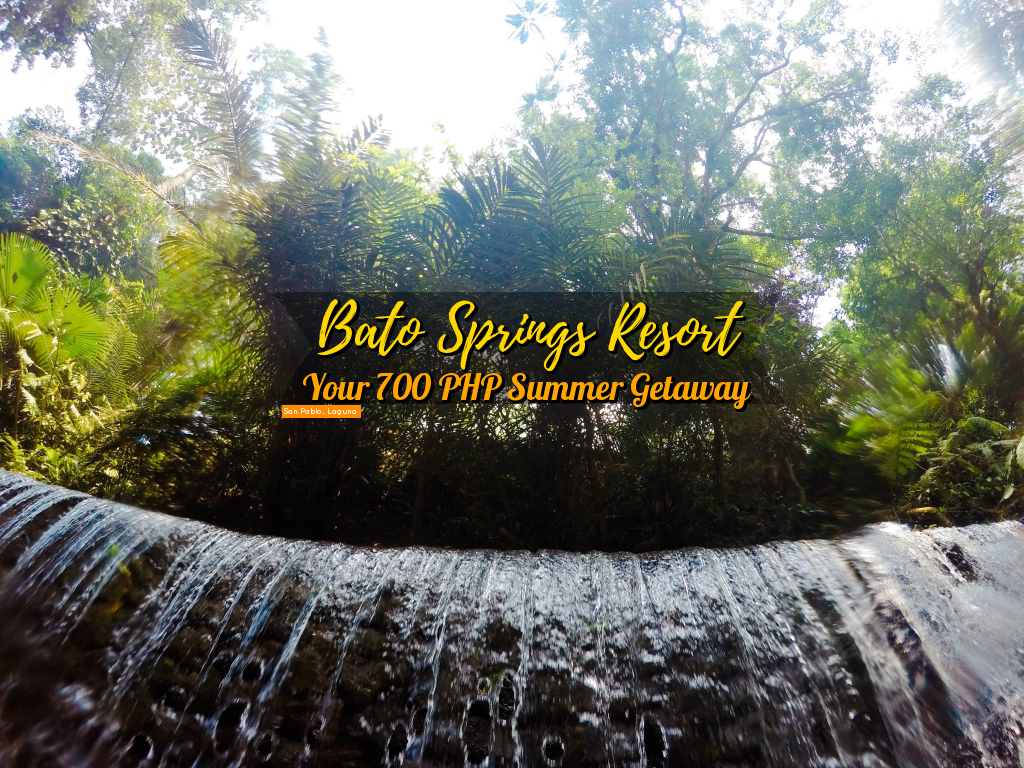 Bato Springs Resort: Your 700 PHP Summer Getaway