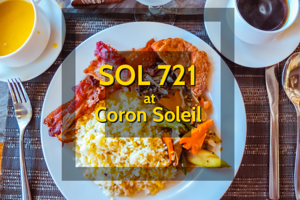Sol 721 at Coron Soleil - http://thejerny.com