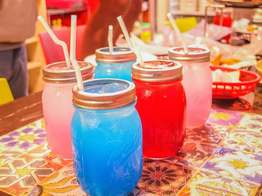 Buffalo Swing - Pink Lychee Lemonade and Blue Lemonade - http://thejerny.com