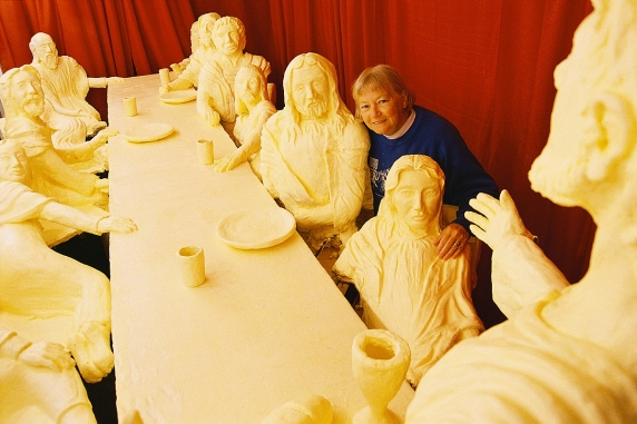 The Last Supper In Ten Unusual Mediums The Jesus Question