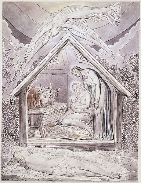 """Christ's Nativity"" by John Milton and Wiliam Blake"