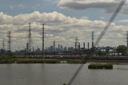 Vista desde el Tren Ciudad de Nueva York