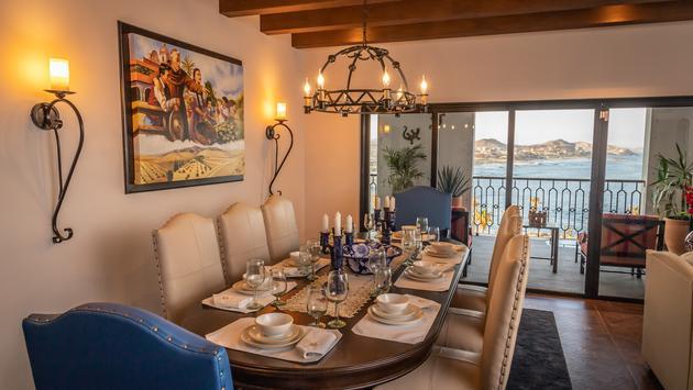 Dining area at Vista Encantada Spa Resort & Residences