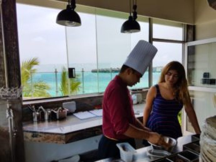 Cooking Indian Maldives