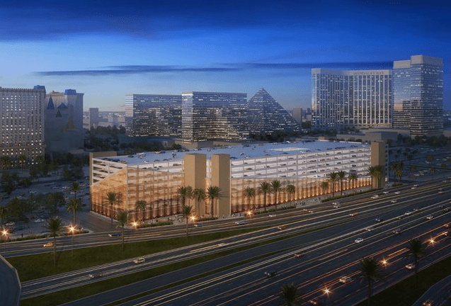 MGM Resorts new parking structure