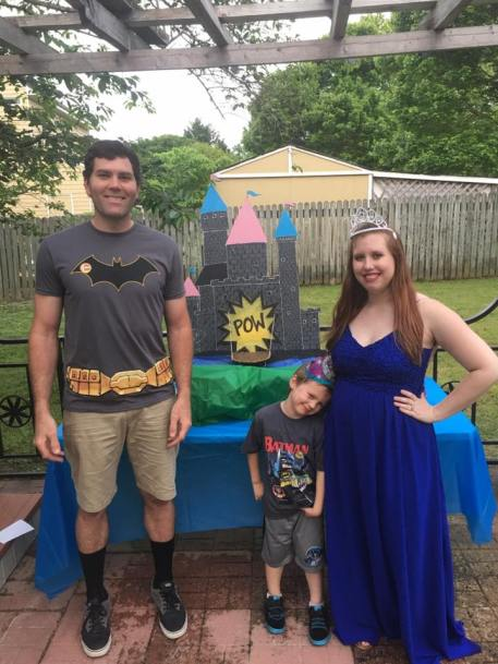 superhero or princess gender reveal