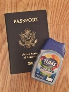 preparing for international travel while pregnant